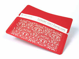 custom gift card holders custom design laser cut gift envelopes and gift card holders gift