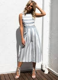 white wide leg jumpsuit s fashion sleeveless striped backless strappy wide leg