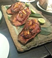roka cuisine roka st great food pushy service big bill piggy