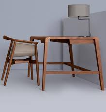 Schmaler Schreibtisch Schreibtisch Aus Massivholz Secret Milanari Com