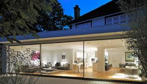 garden home interiors how a glass extension turned a traditional thirties terrace