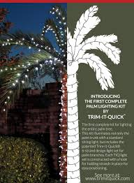 palm tree christmas tree lights palm tree lighting kits buy direct http shop trimitquick com