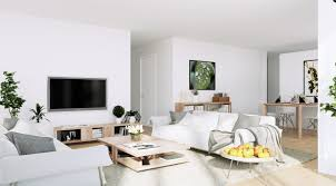 scandinavian apartment scandinavian apartment white living entertainment with organic