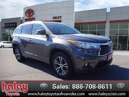 certified toyota highlander certified pre owned 2016 toyota highlander l suv in roanoke
