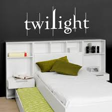 twilight wall stickers decals wall stickers decals white twilight wall decal in a kid s bedroom
