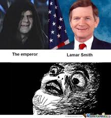 Star Wars Emperor Meme - cannot be unseen the emperor lamar smith by serkan meme center