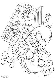 48 monsters images disney coloring pages