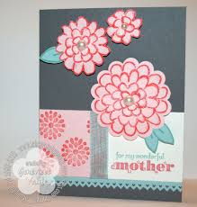 a mother u0027s day flower fest card stampin u0027 by genny u0027s blog