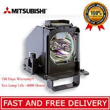 mitsubishi tv light bulb mitsubishi 915b441001 tv replacement l bulb with housing bright