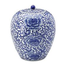 What Is Ginger Jars Rose Motif Ginger Jar With Lid Williams Sonoma