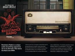 amazon the man in the high castle resistance radio clios