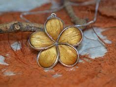 Koa Wood Plumeria Flower Sterling Silver Pendant Sterling Silver Koa Wood 20 Mm Maile Leaf By Silvershowroom