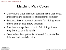 chapter 17 color matching objectives describe color theory and