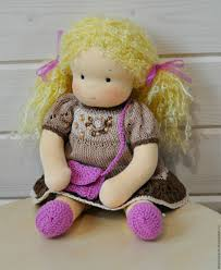buy textile waldorf doll for kids lyubasha on livemaster online shop