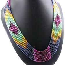 natural bead necklace images Natural gemstone beads necklace buy bead necklace gemstones jpg