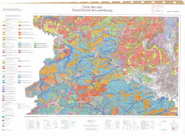 Luxembourg Map National Soil Maps Eudasm Esdac European Commission
