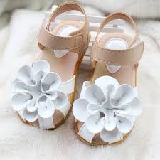 tripleclicks com summer summer baby beach shoes kids girls princess flowers soft vute sandal 21 25 size