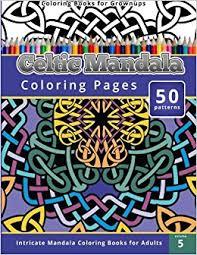 amazon coloring books grownup celtic mandala coloring