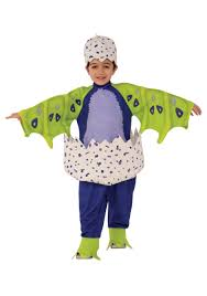 Dinosaur Halloween Costume Toddler Hatchimals Hatched Draggles Costume