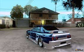 nissan tuner cars nissan skyline r32 drift car tuning for gta san andreas