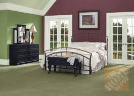 the paint color for the nightstands is gulf winds by behr home
