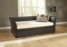 furniture chic design of small daybed with trundle for
