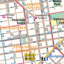 san francisco map detailed city maps and maps for web print and display media