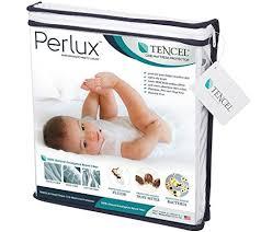 Vinyl Crib Mattress Perlux Hypoallergenic Tencel 100 Waterproof Crib