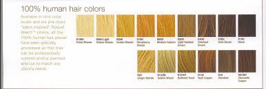 Golden Color Shades Raquel Welch Color Charts