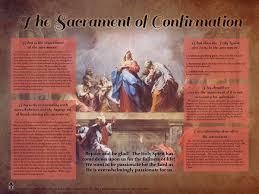 catholic store online the sacrament of confirmation explained poster catholic store