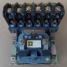 square d lighting contactor panel square d 8903 lo60 6 pole 20 amp 120v lighting contactor open used used