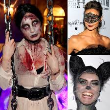 best celebrity halloween makeup looks popsugar beauty australia