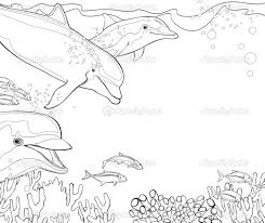 coloring pages for adults only the coloring book dolphins