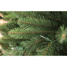 puleo international 7 5 pre lit fraser fir artificial