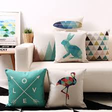 Modern Cushions For Sofas Geometry Cushions Decorative Pillow Home Decor Sofa Throw Pillow