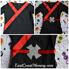 Easy T Shirt Halloween Costumes by Easy Black Ninja Costume No Sewing Required Lego Ninjago Lego