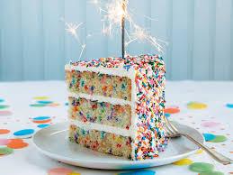 funfetti birthday cake u2014 personal touch experience