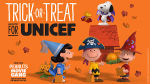 fox u0027s u0027peanuts movie u0027 characters to encourage kids to trick or