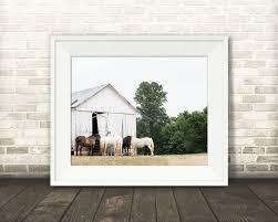 horse barn photograph fine art print color photo wall art