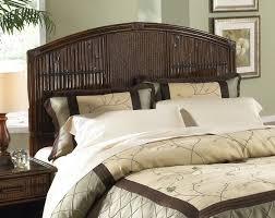 black wicker headboard king size bed and footboard queen rattan