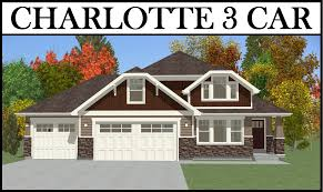 charlotte 3 car 4 bed 2260 2 story u2013 utah home design