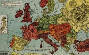 Europe Map Ww1 Weekly Pixel Art Challenge Hidden In Geography