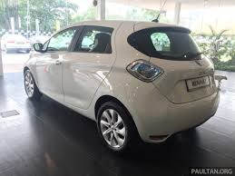 renault malaysia renault zoe electric vehicle now available in malaysia from rm146k