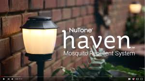 haven backyard lighting and mosquito repellent system nutone