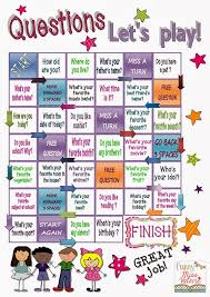 free printable board games to learn english buscar con google