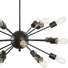 Black Chandelier Ls Sputnik Style Chandelier Light Society Meridia Cheap Lights