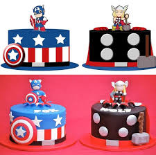 captain america cake topper save the day with these cupcakes cupcake drawing thor