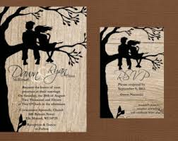 wedding invitations for friends tree of wedding invitation wood wedding invitation
