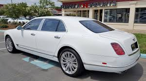 2013 Bentley Mulsanne Mulliner For Sale Formula One Imports