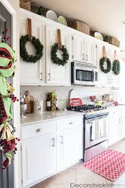 kitchen christmas decorations diy kitchen christmas decoration ideas